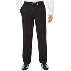 Stafford Classic Fit Pleated Pants Big and Tall