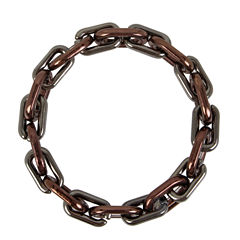 Worthington Womens Link Bracelet