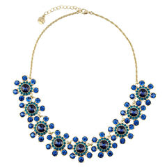 Monet Jewelry Womens Collar Necklace