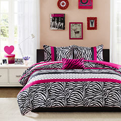 Mi Zone Gemma Zebra Duvet Cover Set