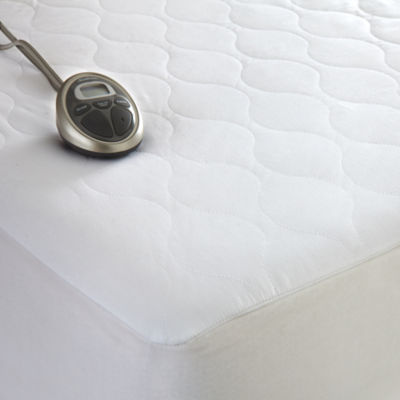 sunbeam waterproof heated mattress pad