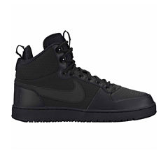 Nike Court Borough Mid Winter Mens Basketball Shoes
