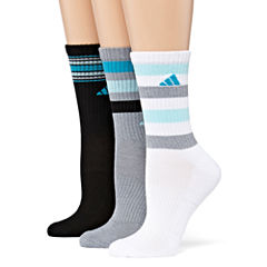 adidas 3 Pair Crew Socks - Womens