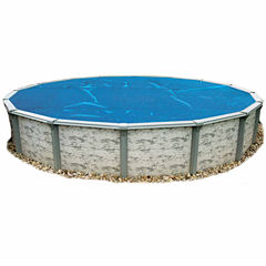 Blue Wave Round 8-mil Solar Blanket for Above Ground Pools