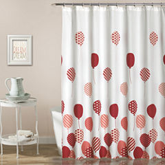 Lush Decor Lush Décor Flying Balloon Shower Curtain