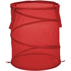 Honey-Can-Do® Large Mesh Pop-Open Hamper