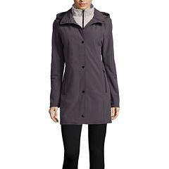 Liz Claiborne® Soft Shell Jacket with Knit Vest