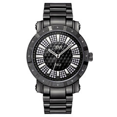 JBW 562 Mens 1/8 CT. T.W. Diamond Black Stainless Steel Watch JB-6225-D