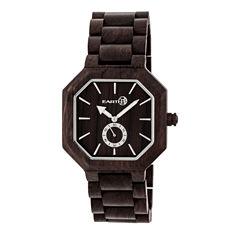 Earth Wood Acadia Unisex Brown Bracelet Watch-Ethew4702