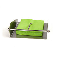 Mind Reader Stainless Steel Flat Napkin Holder