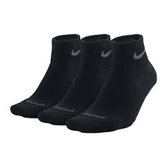 Nike® 3-pk. Dri-FIT Quarter Socks–Big & Tall