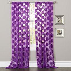 Lush Decor Arlene Curtain Panel