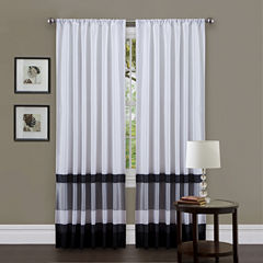 Lush Decor Iman Curtain Panel