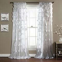 Lush Decor Riley Curtain Panel
