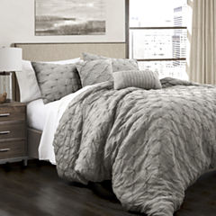 Lush Decor Ravello Pintuck 5pc Comforter Set