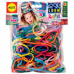 ALEX Toys Craft Loop N Loom Refill Loops