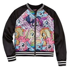 Girls My Little Pony Midweight Bomber Jacket - Big Kid