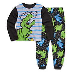 Dinosaur 2 Piece Pajama Set - Boys Big Brother 4-20