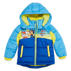 Paw Patrol Logo Puffer Jacket -Toddler Boys