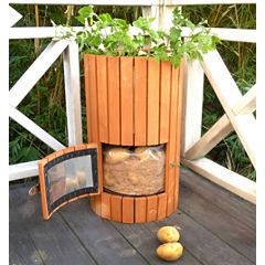 Northbeam Wooden Potato Outdoor Planter