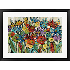 Confetti Floral I Framed Print Wall Art