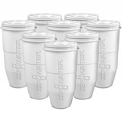 ZeroWater 5-stage Ion Exchange Filter 8-pk