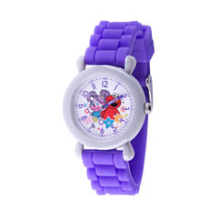 Sesame Street Girls Purple Strap Watch-Wss000036