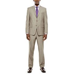 Collection by Michael Strahan Taupe Suit- Classic Fit