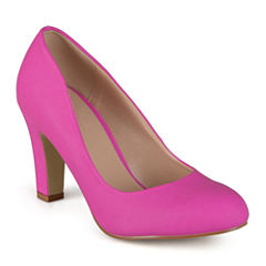 Journee Collection Ice Patent Leather Pumps