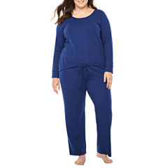 Liz Claiborne 2-pc. Thermal Pant Pajama Set