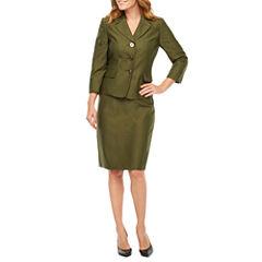 Le Suit Tonal Skirt Suit