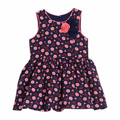 Marmellata Sleeveless Pattern A-Line Dress - Baby Girls