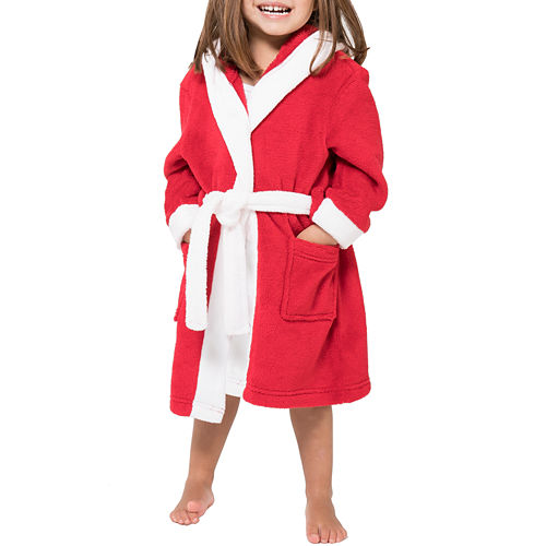 Family Pajamas Long Sleeve Robe-Big Kid Unisex
