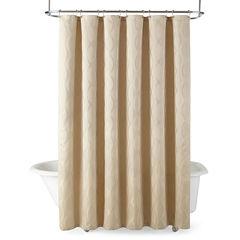 Liz Claiborne® Marlena Ogee Shower Curtain