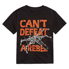 Short Sleeve Crew Neck T-Shirt-Preschool Boys