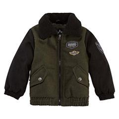 Wool Bomber Jacket- Boys Toddler