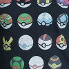 Navy Pokemon Balls