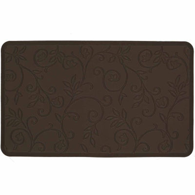 jcpenney home elegant vines ultimate comfort kitchen mat - Anti Fatigue Kitchen Mats