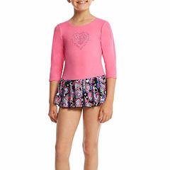 Jacques Moret 3/4 Sleeve Hearts Dance Dress - Preschool