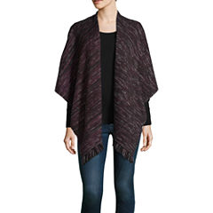 Libby Edelman Fringe Cold Weather Wrap