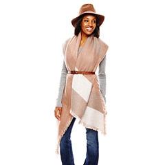 Panama Hat, Geometric Wrap and Skinny Belt