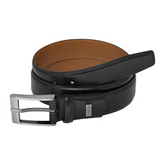 Van Heusen® Single-Stitch Stretch Leather Dress Traveler Belt - Big & Tall