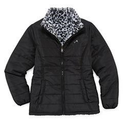 Vertical 9 Puffer Jacket - Girls-Big Kid