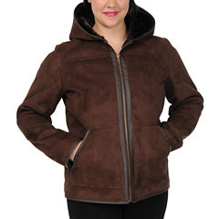 Excelled Faux-Shearling Jacket