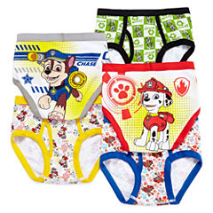 Paw Patrol 5-pk. Brief - Preschool Boys 4-8