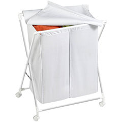 Honey-Can-Do® Folding Double Hamper/Sorter