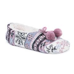 Muk Luks Ballerina Slippers