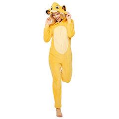 Disney Lion King Simba Long Sleeve One Piece Pajama