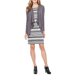 R & K Originals Long Sleeve Jacket Dress