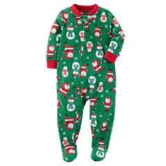 Carter's Long Sleeve One Piece Pajama-Toddler Boys